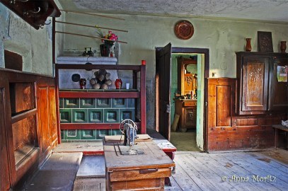 Abandoned house - the living room
