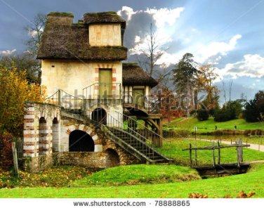 stock-photo-the-mill-queen-marie-antoinette-s-hamlet-gardens-of-versailles-france-78888865
