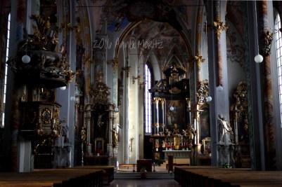 St Nicholas church, Hall in Tirol