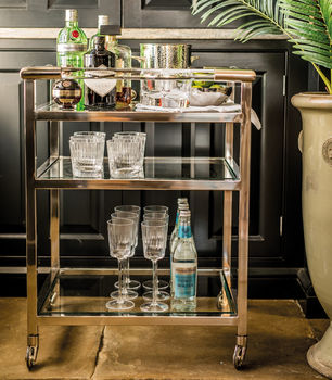 Marquis & Dawe drinks trolley