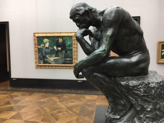 Augusta Rodin, The Thinker (1881-83)