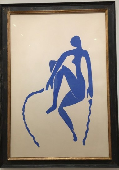 Henri Matisse, Blue Nude Skipping (1952)