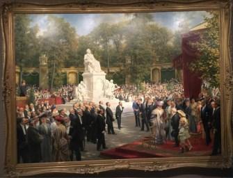 Anton von Werner, Unveiling of the Richard-Wagner Monument in the Tiergarten, (1908)