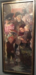 Max Beckmann, The Street (1914)
