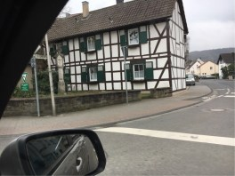 Traditional countryside construction in Dernau