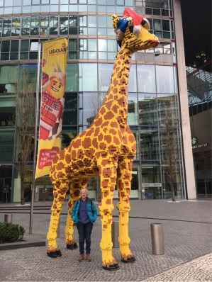 Outside the Legoland Discovery Centre