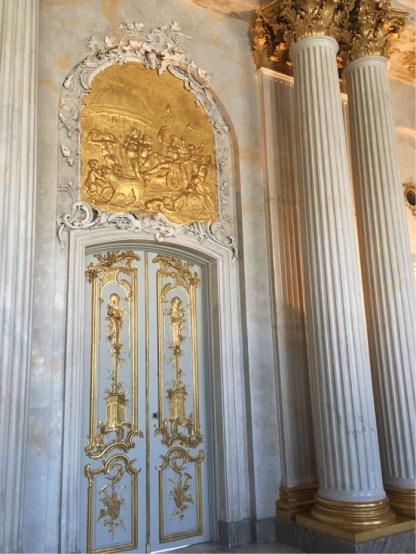 Sanssouci Entrance for Guests.
