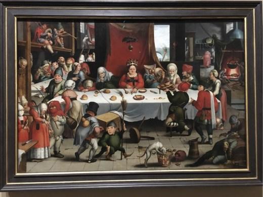 Jan Mandijn, Burlesque Feast, c.1550