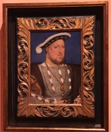 Hans Holbein 'the Junior', Portrait of King Henry VIII, 1534-36