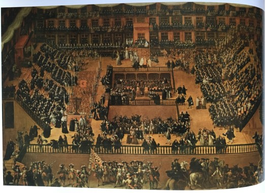 Francisco Rizi, Auto-da-fe in the Plaza Mayor of Madrid, 1683