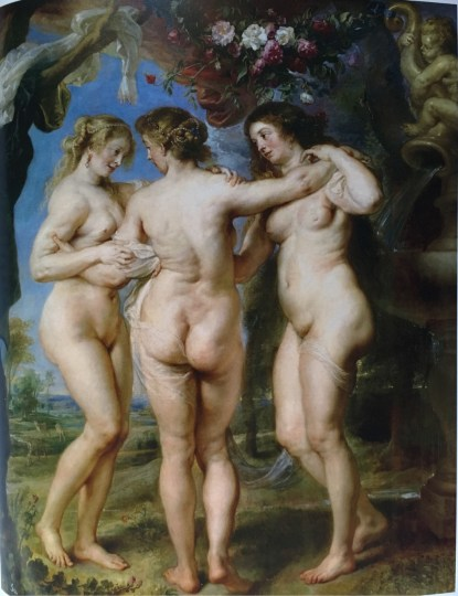 Peter Paul Rubens, The Three Graces, 1630-35.