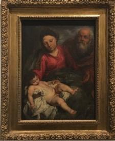 Anton van Dyck, The Holy Family, ca 1624