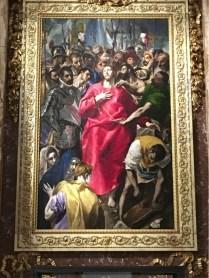 El Greco, The Disrobing of Christ