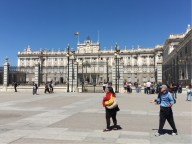 Palacio Real main entrance