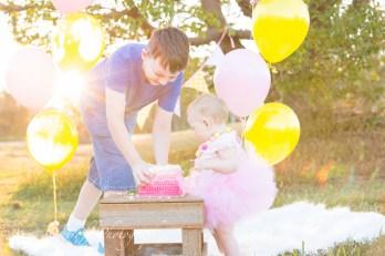 First Birthday Cake Smash AOsetroff Photographer Brisbane