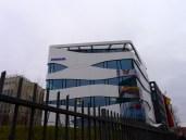 Ottobock's building is designed like a muscle fiber