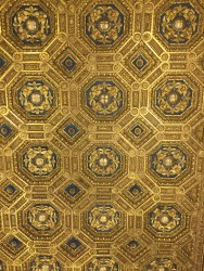 ceiling inside of one of the rooms in Palazzo Vecchio