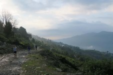trail running in nepal
