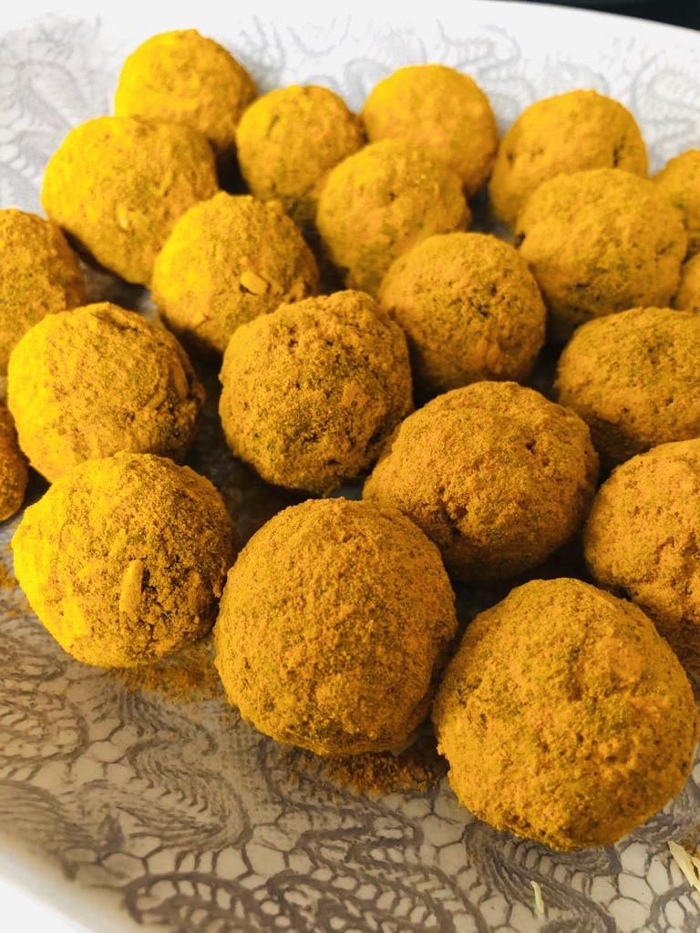 golden milk balls