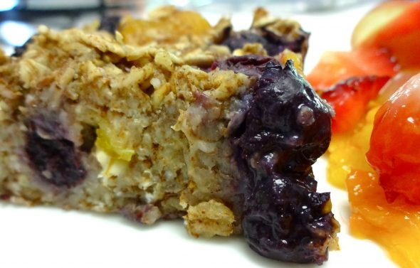 Baked Oatmeal Breakfast Squares