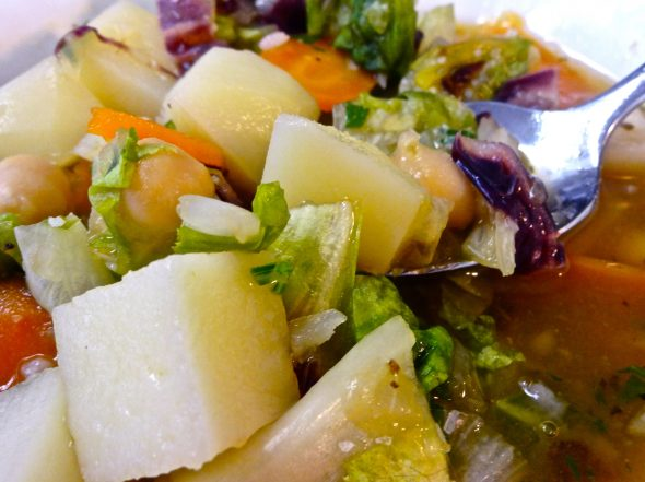 Italian Escarole and Potato Soup