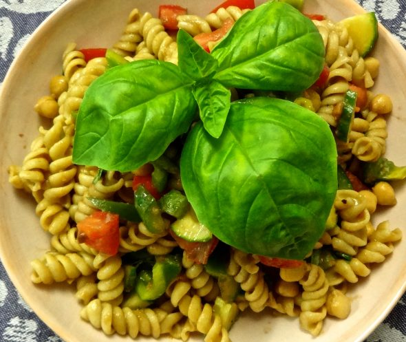 Mediterranean Summer Pasta Salad