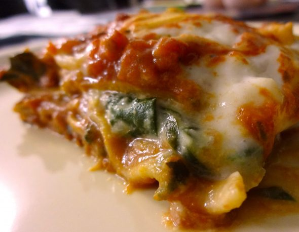 Creamy Vegetable Lasagne