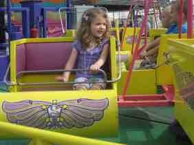 Saline Fair Preschool Day - Kids Rides - Mini Scrambler