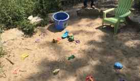 Matthaei Botanical Garden - Children's Garden - Sandbox
