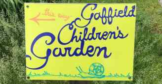 Matthaei Botanical Garden - Children's Garden - Sign