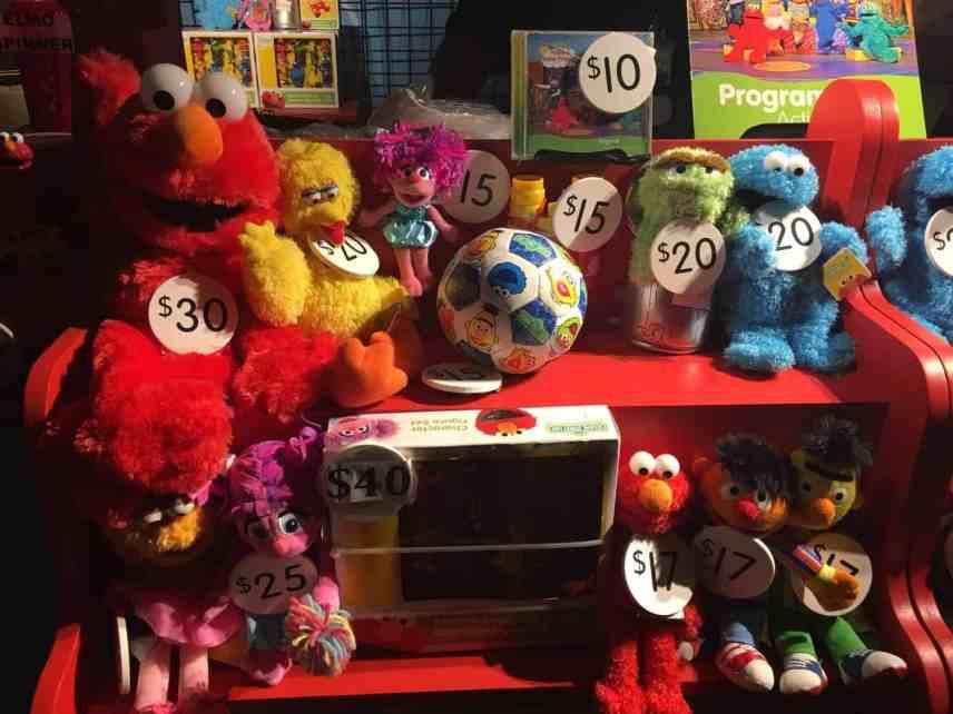 Sesame Street Live - Souvenirs