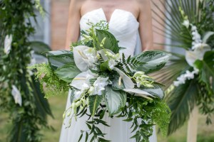 A tropical wedding