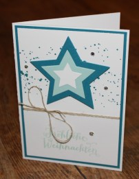 Workshop Weihnachtskarten Stampin Up