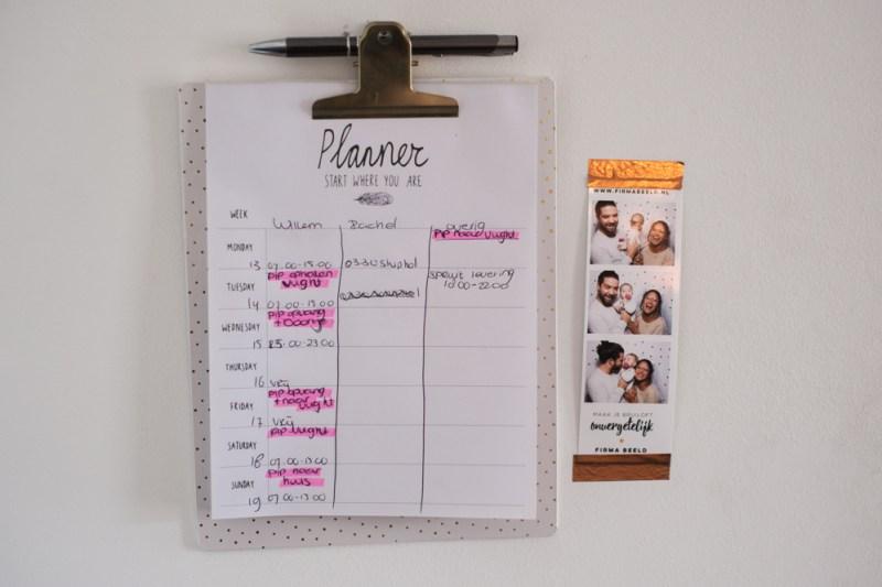 Planner in Rachels woning - volgende week lees je in een nieuwe blogpost alles over haar interieur!