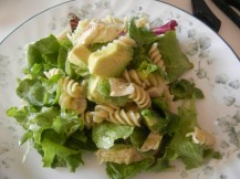 Naked Spring Greens with Avocado