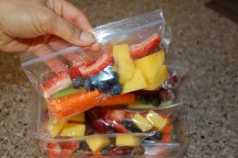 Grab-And-Go Fruits and Veggie Snack