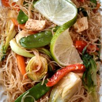 Meatless Pancit (Filipino Stir-fry Noodles with Vegetables)
