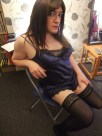 Anna Secret Poet, brown hair play-suit chair