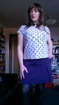 Anna Secret Poet Purple Skirt