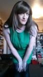 Anna Secret Poet New Green Dress 3