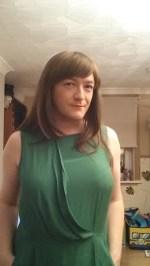 Anna Secret Poet Green Dress Halloween 2015 2