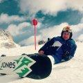 Luigi Matrone snowboarding