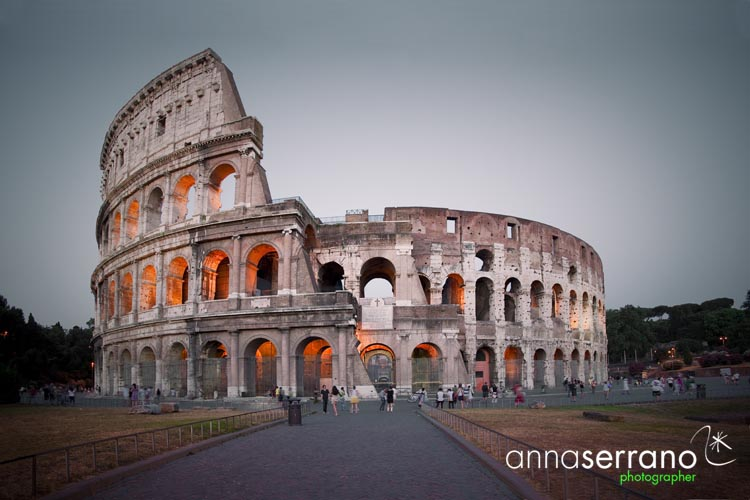 Anna Serrano - Roma Colosseo