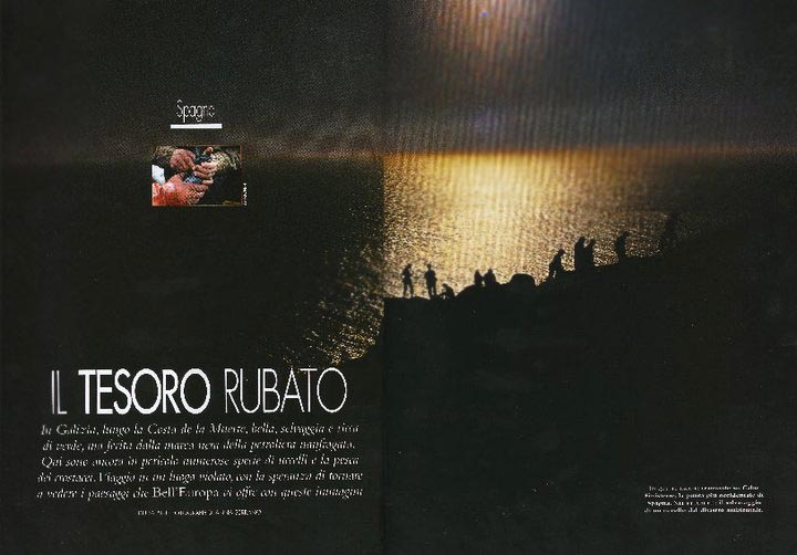 0086-BELL'EUROPA - GALICIA - DEATH COAST