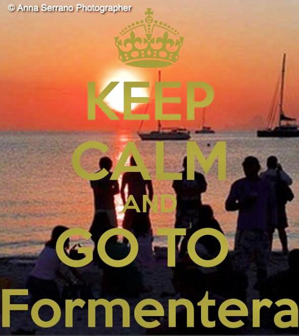 0113-KEEP CALM O MATIC POSTERS - FORMENTERA