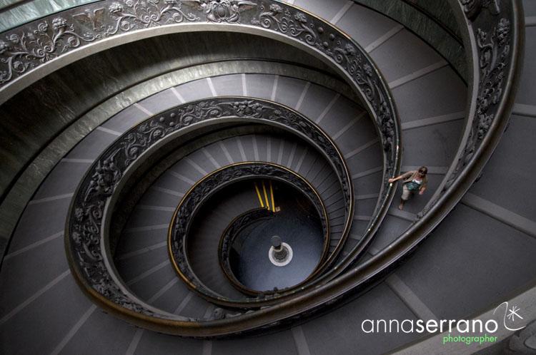 Rampa Elicoidale - Musei Vaticani - Roma