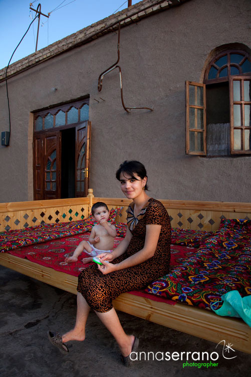 Maternity in Khiva, Uzbekistan