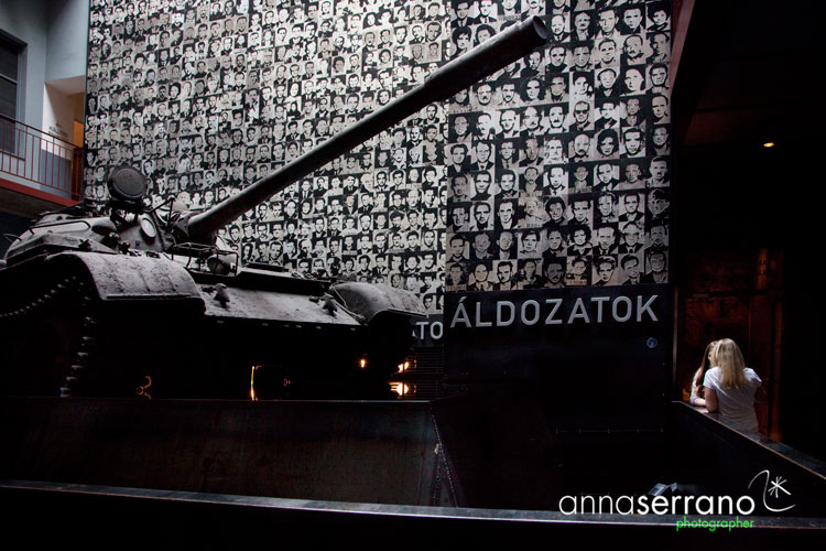 Hungary, Budapest, The House of Terror Museum
