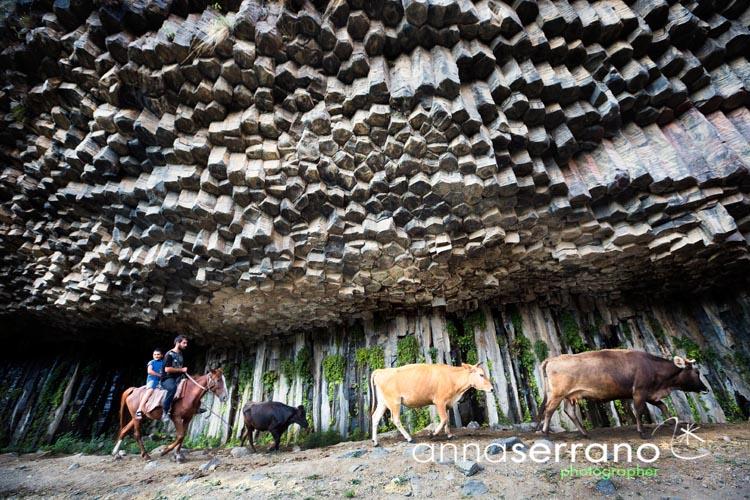 Armenia, Yerevan, Garni Canyon, Simphony of the Stones, 4x4