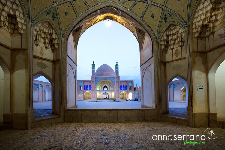 Iran, Isfahan Province, Kashan, Masjede Agha Bozorg